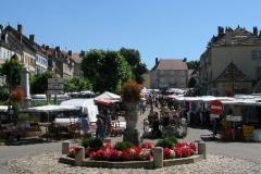 Saint-Gengoux markt